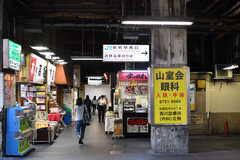 各線・鶴橋駅前の様子。(2017-06-06,共用部,ENVIRONMENT,1F)