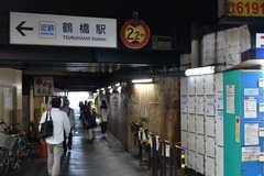 各線・鶴橋駅前の様子2。(2017-06-06,共用部,ENVIRONMENT,1F)