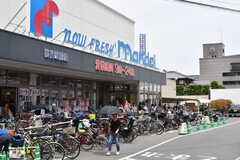 JR環状線・桃谷駅前のスーパー。(2017-06-06,共用部,ENVIRONMENT,1F)