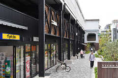 JR環状線・桃谷駅前の様子。(2017-06-06,共用部,ENVIRONMENT,1F)