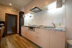 キッチンの様子。(2014-12-10,共用部,KITCHEN,1F)