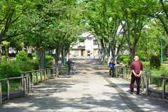 駅からシェアハウスへ向かうには、公園を通っていきます。(2019-05-15,共用部,ENVIRONMENT,1F)
