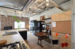 キッチンの様子3。(2014-05-15,共用部,LIVINGROOM,4F)