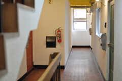 廊下の様子。(2014-05-15,共用部,LIVINGROOM,2F)