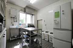 キッチンの様子。(2013-09-12,共用部,KITCHEN,1F)