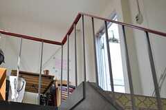 屋上へ続く階段の様子。(2013-09-12,共用部,OTHER,5F)