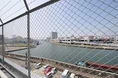 屋上からは安治川が見えます。(2013-09-12,共用部,OTHER,5F)