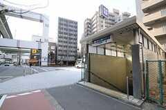 各線・阿波座駅の様子。(2013-02-05,共用部,ENVIRONMENT,1F)