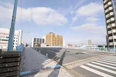 シェアハウスへ向かう道のの様子。(2013-02-05,共用部,ENVIRONMENT,1F)