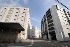 シェアハウスの近くにある、倉庫ビル。(2013-02-05,共用部,ENVIRONMENT,1F)