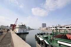 シェアハウスの向かいには運河があります。(2013-02-05,共用部,ENVIRONMENT,1F)