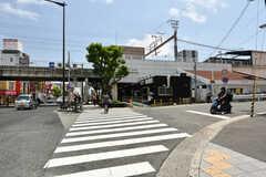 大阪環状線・寺田町駅の様子。(2020-07-01,共用部,ENVIRONMENT,1F)
