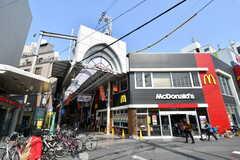 阪急淡路駅前の商店街2。(2017-03-20,共用部,ENVIRONMENT,1F)