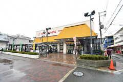 京阪本線・森小路駅前のスーパー。(2017-04-26,共用部,ENVIRONMENT,1F)