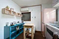 キッチン周辺の様子。(2017-05-11,共用部,KITCHEN,2F)
