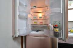 冷蔵庫の様子。(2017-05-11,共用部,KITCHEN,2F)