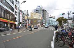 JR・桃谷駅前の様子。(2015-02-02,共用部,ENVIRONMENT,1F)