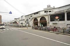 JR・桃谷駅の様子。(2015-02-02,共用部,ENVIRONMENT,1F)