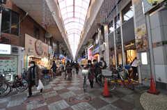 JR・桃谷駅前の商店街。(2015-02-02,共用部,ENVIRONMENT,1F)