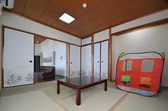 和室の様子2。(2013-08-23,共用部,LIVINGROOM,7F)