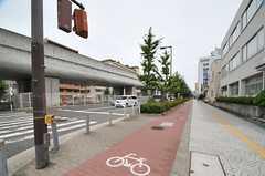 大阪市絵地下鉄中央線・大阪港駅からシェアハウスへ向かう道の様子。(2013-08-23,共用部,ENVIRONMENT,6F)