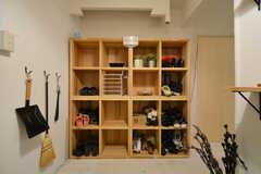 靴箱の様子。(2015-12-10,周辺環境,ENTRANCE,3F)