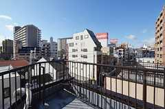 屋上の様子2。(2015-01-12,共用部,OTHER,5F)