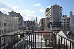 屋上から通天閣が望めます。(2015-01-12,共用部,OTHER,5F)