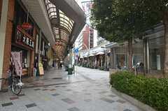 堺筋線・恵美須町駅前の商店街の様子。(2015-01-12,共用部,ENVIRONMENT,1F)
