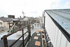 屋上にラウンジがあります。(2017-08-30,共用部,OTHER,4F)