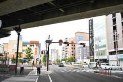 大阪市営地下鉄谷町線・文の里駅前の様子。(2017-08-30,共用部,ENVIRONMENT,1F)