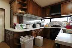 キッチンの様子。(2012-09-11,共用部,KITCHEN,10F)
