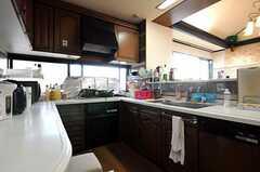 キッチンの様子2。(2012-09-11,共用部,KITCHEN,10F)