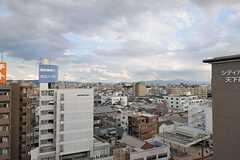 窓からの景色はこんな感じ。(101号室)(2012-09-11,専有部,ROOM,10F)