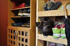靴箱の様子。(2012-09-11,周辺環境,ENTRANCE,8F)