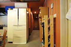 廊下の様子。(2012-09-11,共用部,OTHER,8F)