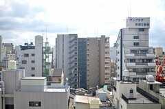 窓からの景色はこんな感じ。(2012-09-11,共用部,LIVINGROOM,7F)