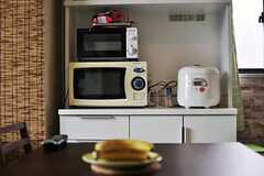 キッチン家電の様子。(2012-09-11,共用部,KITCHEN,7F)