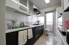 キッチンの様子。(2012-09-12,共用部,KITCHEN,5F)