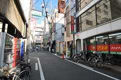 南海高野線・堺東駅からシェアハウスへ向かう道の様子。(2012-09-12,共用部,ENVIRONMENT,1F)