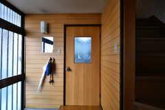 玄関脇のドアを開けると共用のダイニングです。(2018-01-29,共用部,OTHER,1F)