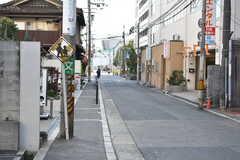 各線・鶴橋駅からシェアハウスへ向かう道の様子。(2018-01-29,共用部,ENVIRONMENT,1F)
