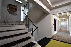 階段の様子。(2017-03-29,共用部,OTHER,3F)