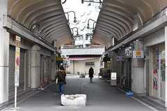 阪神本線・姫島駅周辺の様子。(2017-02-06,共用部,ENVIRONMENT,4F)