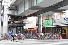 阪神本線・姫島駅周辺の様子3。(2017-02-06,共用部,ENVIRONMENT,4F)