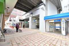 阪神本線・姫島駅の様子3。(2017-02-06,共用部,ENVIRONMENT,4F)
