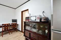 食器棚の様子。(2020-01-15,共用部,KITCHEN,1F)