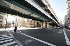 各線・緑橋駅の様子。(2014-01-29,共用部,ENVIRONMENT,1F)