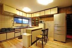 キッチンの様子。(2012-03-24,共用部,KITCHEN,1F)