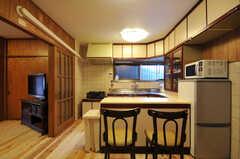 キッチンの様子2。(2012-03-24,共用部,KITCHEN,1F)